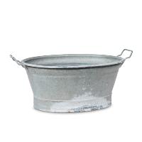 Mauser galvanized tub