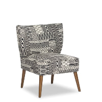 Tribal accent chair