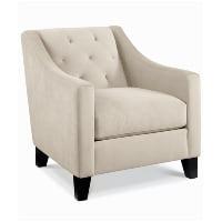 Chloe cream armchair