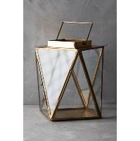 Clarisa gold lantern, medium
