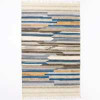 Crosby striped 5x8' rug