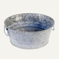 Odell galvanized bucket