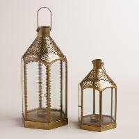 Taza gold lanterns