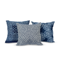 Hmong indigo pillows