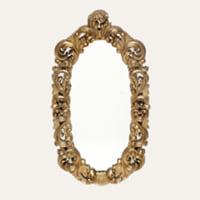 Alexandria gold mirror