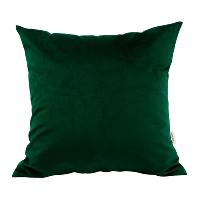 green velvet pillow (d)