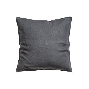 The Paynes: Dark Gray Washed Linen Pillows