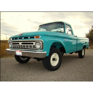 Betty: Turquoise 1964 Ford Truck