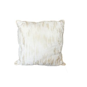 The Lottie: Gold Striped Pillow