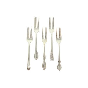 Delilah Vintage Silver-Plated Dinner Fork