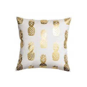 The Moana: White Pineapple Pillows