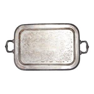The Theo: Large Silver Tray