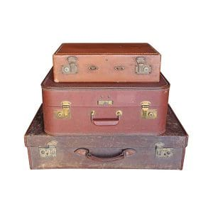 The Balboa: Vintage Suitcases
