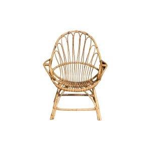 The Wyatt: Boho Rattan Chair