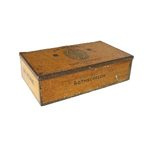 New! Rothschilds Cigar Box