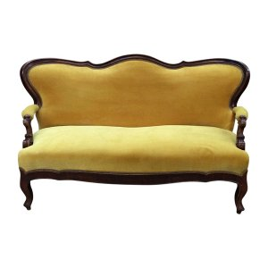 The Marigold: Vintage Settee