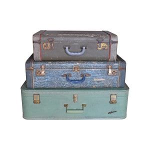 The Azure: Vintage Suitcases