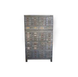 The Pratt: Industrial Metal Card Catalog