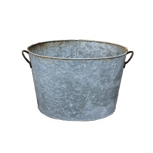 The Harvey: Vintage Metal Bucket