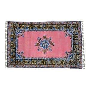 The Casablanca: Pink Moroccan Rug