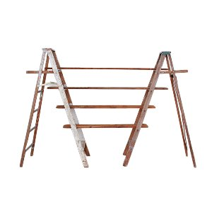 The Declan: Vintage Ladder + Shelves
