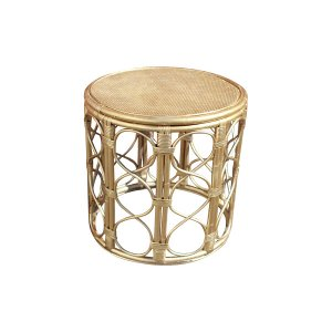 The Marilyn: Gold Bamboo Table