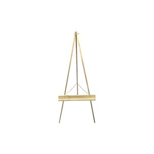 The Michelangelo Large Gold Easel