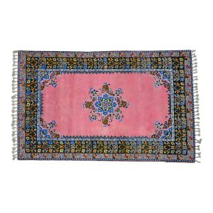 The Casablanca: Pink Moroccan Rug