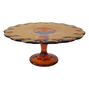 The Petra: Amber Cake Stand