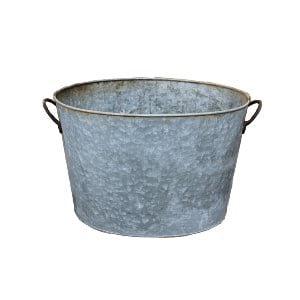 The Harvey: Vintage Metal Bucket
