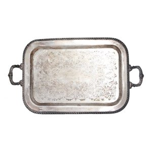 The Fay: Large Silver Tray