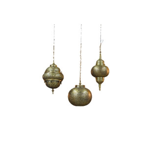 The Samira: Mixed Brass Moroccan Lanterns