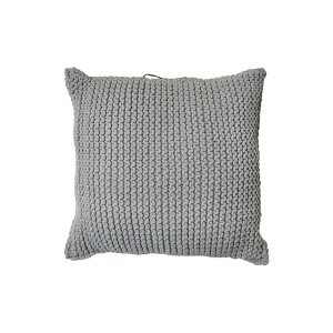 The Jean Paul: Gray Floor Pillow