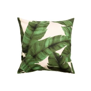The Havana: Palm Print Pillows