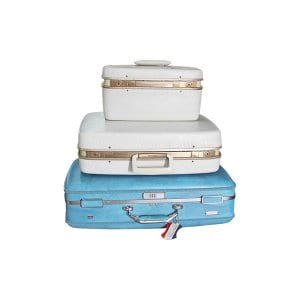 The Blanche: Midcentury Suitcases