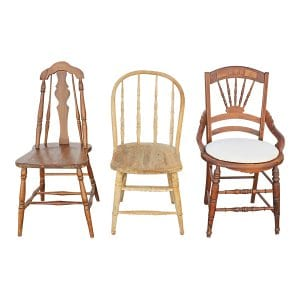The Hamilton: Mixed Vintage Chairs