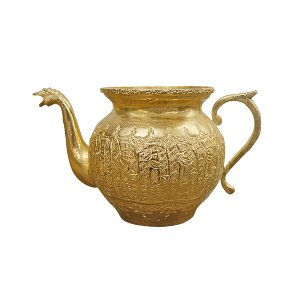 The Hera: Small Brass Pitcher