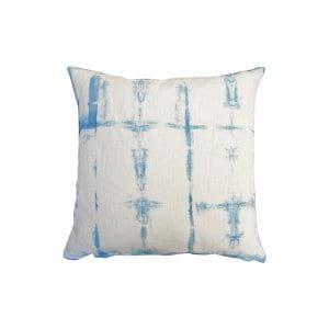 The Pacific: Shibori Dyed Pillows