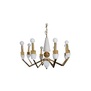 The Nicks: Midcentury Chandelier