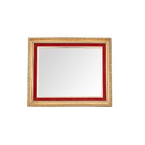 The Helena: Small Gold Mirror