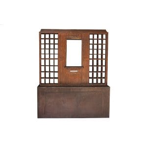 The Thurmont: Wood Post Office Window