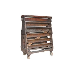 The Richmond: Wood Factory Cart