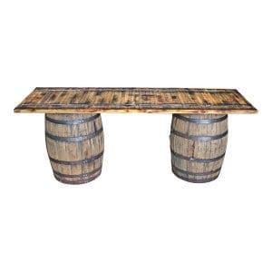 The Loudoun: Wine Barrel Table