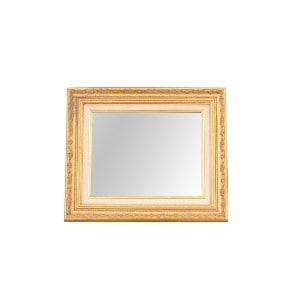 The Livingston: Small Gold Mirror