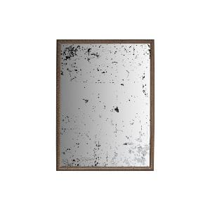 The Nashville: Large Gold Distressed Mirror