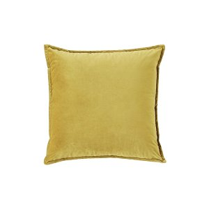 The Joplin: Olive Yellow Velvet Pillows