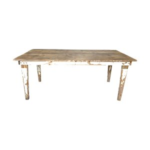 The Baldwin: Vintage Farm Table