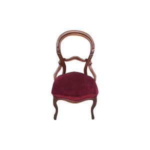 The Duren: Merlot Balloon Chair