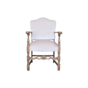 The Tallulah: Blush Velvet Side Chair