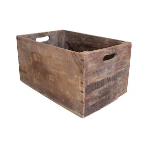 The Jazz : Wood Apple Crate